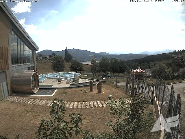 Webcam de Les Angles - Le Village