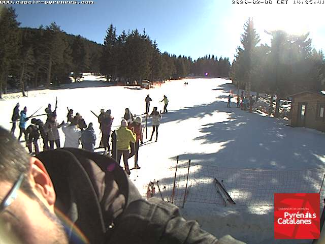 Chalet pic peric formigueres webcam